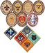 Scouting advancement patches