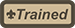 Trained patch